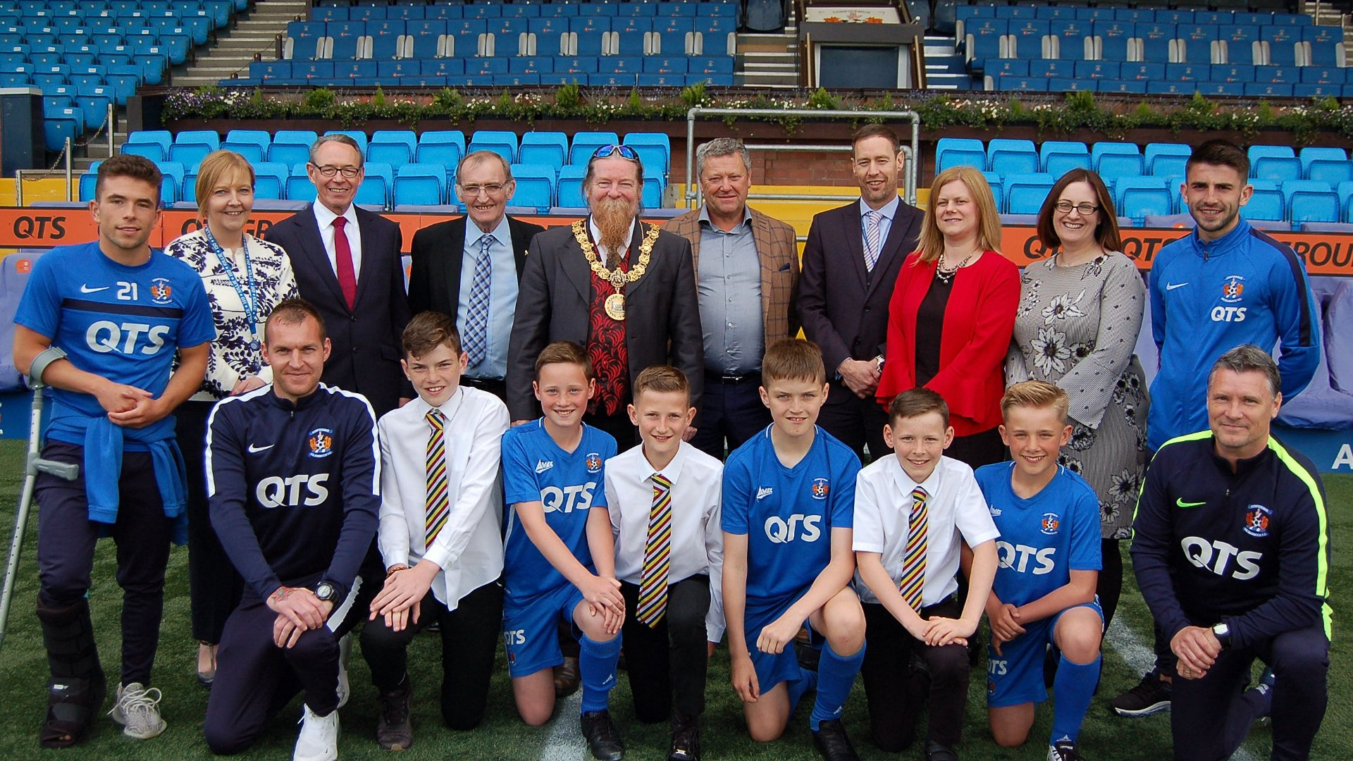 Killie School Of Football Partnership Launched